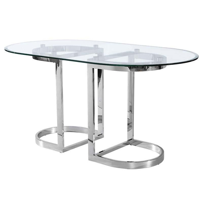 High Quality Gl Stainless Steel Dining Table Metal Legs
